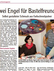 Bastelkurs, Engel, Pürgen, Landsberger Tagblatt, Ulrike Reschke