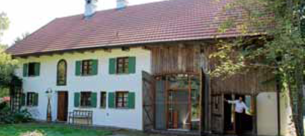 Brummerhaus Thaining, Wolfgang Püschel, Renovierung, ausgezeichnet, Denkmal, Bauernhaus