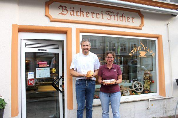 Bernhard und Andrea Fischer feierten das 60-jährige Bestehen ihres Familienbetriebs. Foto: Ulrike Reschke